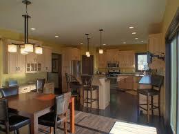 kitchen cool open floor plan kitchen design with l shape