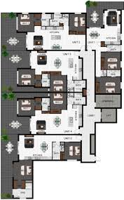 multi family unit floor plans