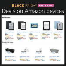 black friday amazon ad amazon black friday deals week begins blackfriday com