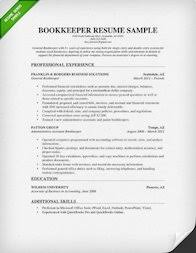 Sample Bookkeeping Resume by Accountant Resume Sample And Tips Resume Genius