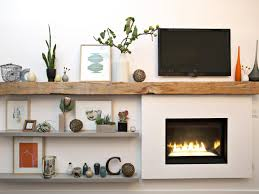 Designing Living Rooms With Fireplaces 15 Ideas For Decorating Your Mantel Year Round Hgtv U0027s Decorating