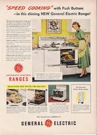 apron history kitchen appliance ads