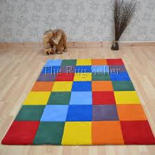 Coloured Rug Colourbox Multi Coloured Wool Rug Free Uk Delivery The Rug Seller