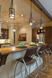 Lighting For A Kitchen by Fascinating Hanging Pendant Lights Over Kitchen Sink Grey Metal
