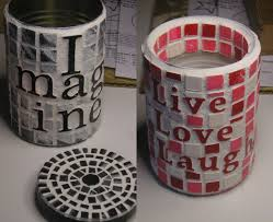 Halloween Tin Can Crafts Can Art A Way To Recycle Some Tin Cans 6 Steps With Pictures