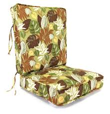 Deep Seat Patio Chair Cushions Deep Seating Replacement Cushions For Outdoor Furniture Cushions