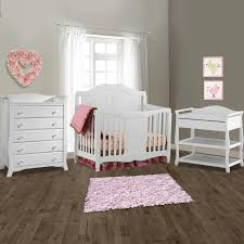 Convertible Crib Changer Combo by Storkcraft Princess Crib Collection Simply Baby Furniture