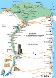 Map Egypt Cairo Map