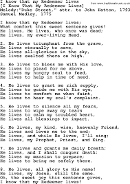 Best Resume Font Style And Size by Old English Song Lyrics For I Know That My Redeemer Lives With Pdf
