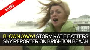 UK weather  Storm Katie raging winds leave massive crane in middle     Mirror Video Loading