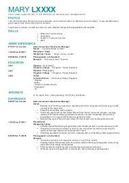 Good Cv Examples Uk        Resume Pdf File Download