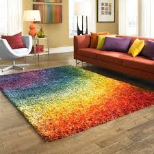 Multicolor Rug Spice Up Any Room In Your Home With This Multicolored Rainbow Rug