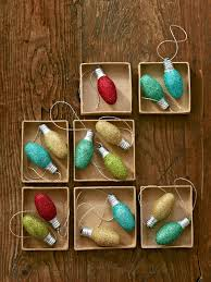 50 easy homemade christmas ornaments to diy homemade glitter