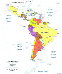 Labeled Map Of Central America by United States Labeled Map United States Labeled Map United