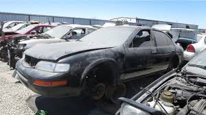 nissan maxima no spark junkyard find 1996 nissan maxima gxe with five speed the truth