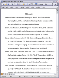 How To Write Bibliography In Mla Style   how to cite a