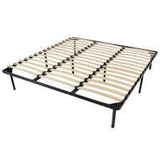 Mattress Foundation King Wood Bed Slats Sultan Laxeby Bed Wood Slats Classic Brands Heavy