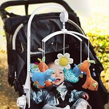 victsing hanging 5pcs baby crib mobile toy holder arm bracket