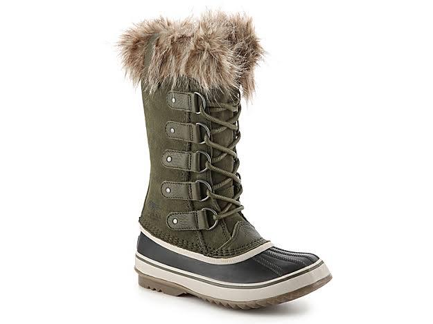 Sorel Joan of Arctic Nori/Dark Stone Waterproof Snow Boots 1708791-383