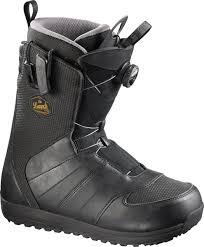 salomon launch boa str8jkt mens snowboard boots black 2017