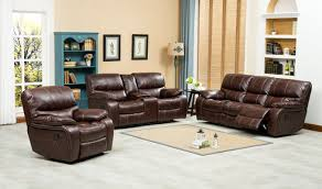 roundhill furniture ewa 3 piece leather living room set u0026 reviews