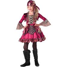 pretty pirate girls halloween costume walmart com