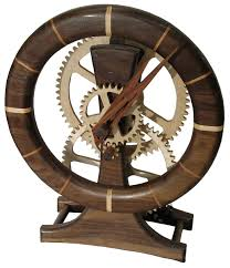 diy plans for wooden gear clock plans free
