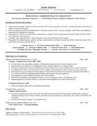 Resume Examples  Executive Administrative Assistant Resume Example With Highlights Of Qualifications In Customer Service And Rufoot Resumes  Esay  and Templates