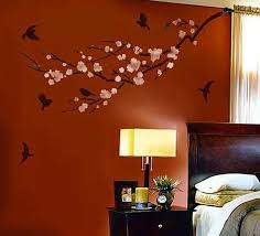 bedroom majestic tree removable wall stickers bedroom living