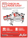 Air Asia | Self Check In Made Easy | Free | Simple | Quick!