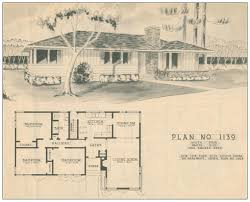 1950s ranch style houses floor plans house plans