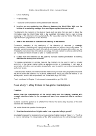 Online Marketing Manager Resume by Internet Marketing Strategy And Practice
