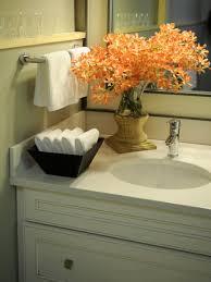 guest bathroom idea like the bowl of hand towels bathroom