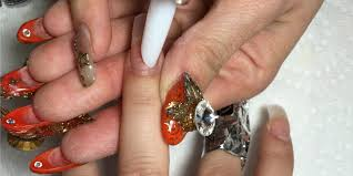 shattered glass nail art how to