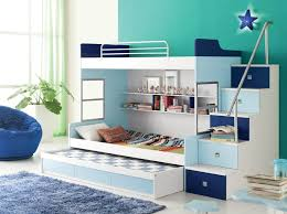 children room set furniture b 03 bunk bed series dark blue