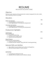 Create Online Resume For Free by Free Job Resume Template Latest Cv And Resumes Rules For Creating