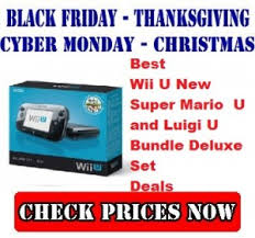 wii u console black friday deals wii u u2013 top black friday cyber monday and christmas deals 2014