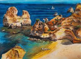 peinture de bord de mer bords de mer les peintures d u0027isabelle