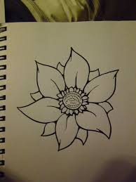 25 simple flower drawing ideas dibujo