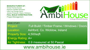 ambihouse timber frame full build co wicklow ireland energy