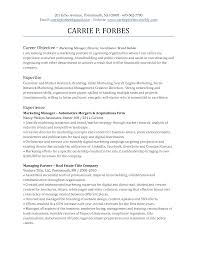 Sample Resume Objectives When Changing Careers by Resume Career Objective Template