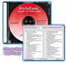 CHICAGO STYLE FORMATTING SOFTWARE with Turabian Style   CHICAGO