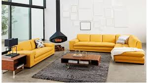 Leather Sofa Chaise by Dylan 3 Seater Leather Sofa With Chaise Lounges Living Room