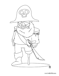 ugly pirate coloring pages hellokids com