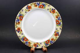 aynsley fine bone china romany pattern 6 piece place setting