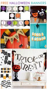 7 free printable halloween banners pizzazzerie