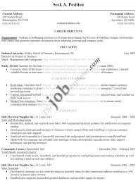 Sample Of Work Resume by Free Resume Templates Samples Of A Sample Housekeeping Resumes