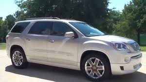 hd video 2012 gmc acadia denali custom paint for sale see www