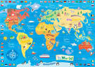 pictures of world map