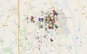 Crime Map By Zip Code by Crime Map News Macon Com U0026 The Telegraph
